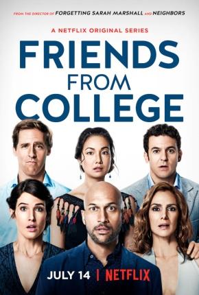 Sobre a série Friends from College (resenha da primeiratemporada)