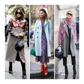 Retrospectiva do primeiro semestre do street style das semanas de moda internacionais2017