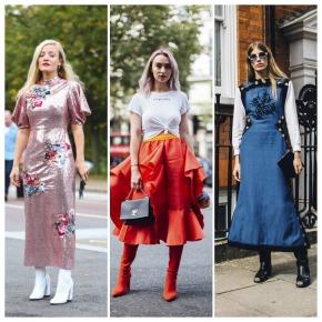 O melhor do street style da semana de moda de Londres: primavera2018