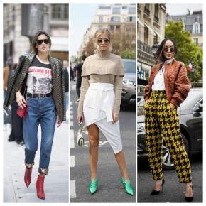Os melhores looks do street style da semana de moda Paris: Primavera/ Verão2018