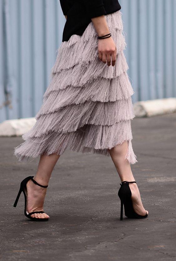 Arquivo da tag  moda feminina 2017 2018. Trend Alert  Franjas. O estilo que  marcou as passarelas das duas temporadas f527e117ae53d