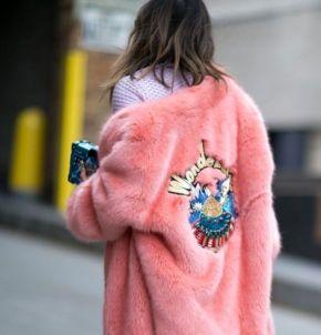 Casaco de pelúcia (plush): Tendência de inverno2018